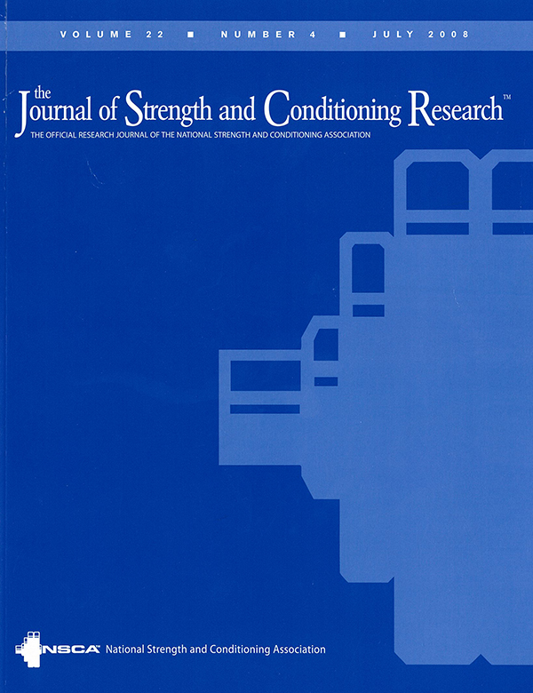 Journal of Strength & Conditioning Research
