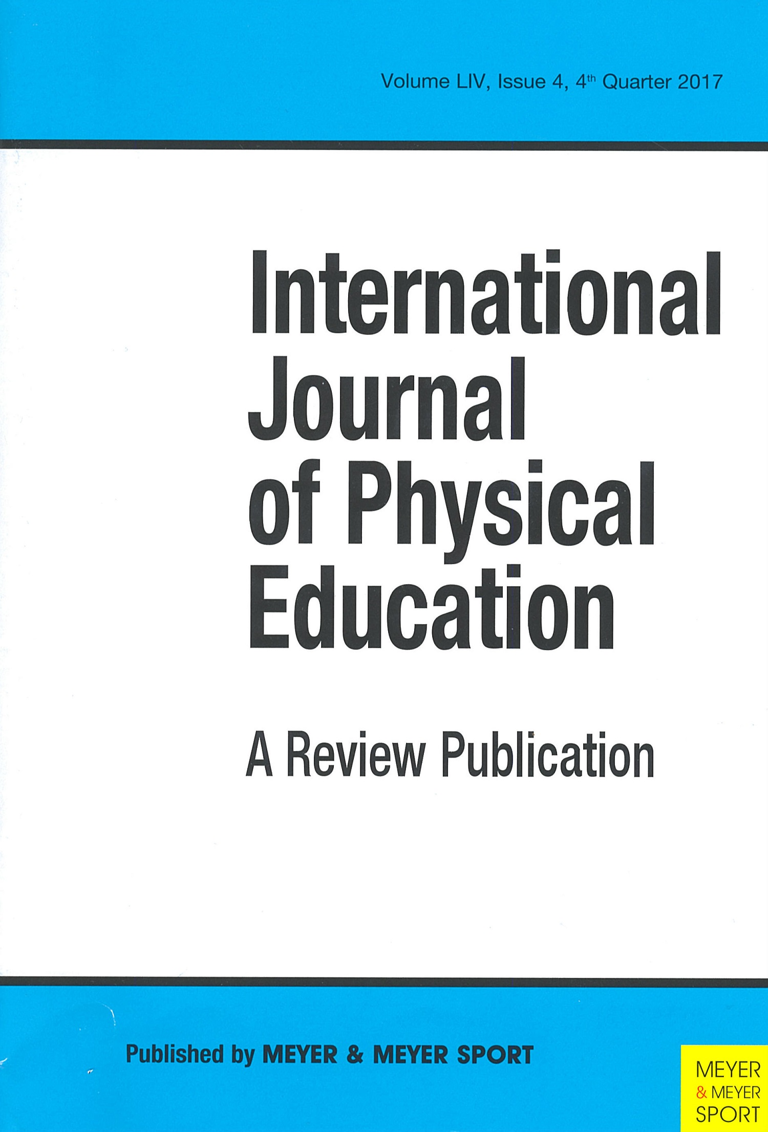 International Journal of Physical Education